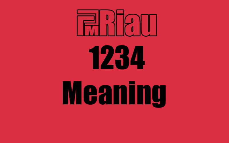 1234 meaning