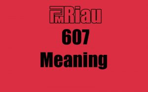 607 meaning