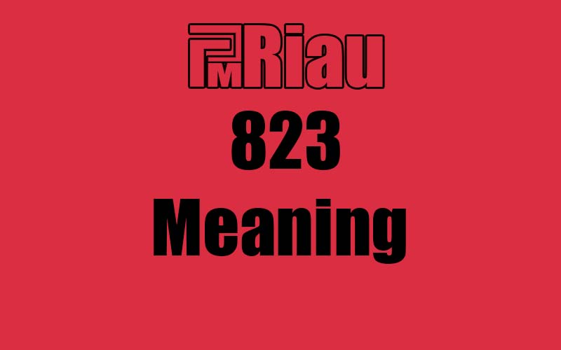 823 meaning