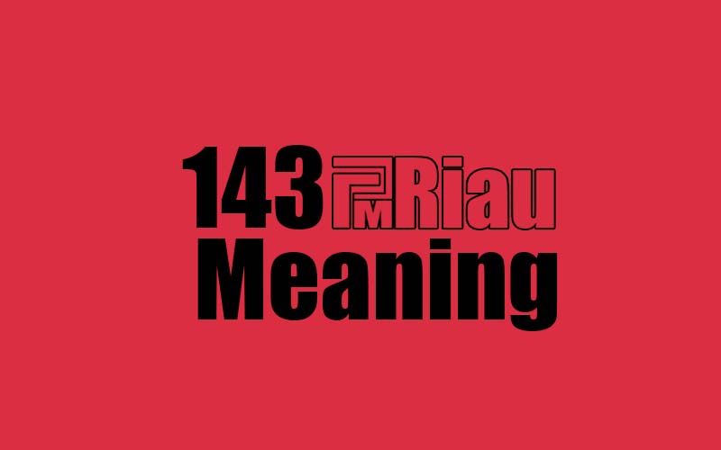 143 meaning