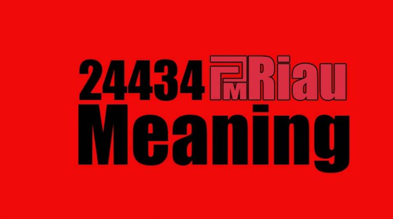 24434 meaning