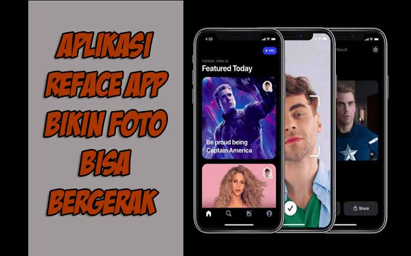 Aplikasi Reface App Bikin Foto Bisa Bergerak
