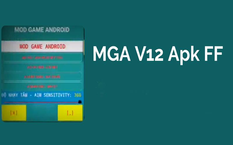 MGA V12 Apk FF Menu Mod Terbaru