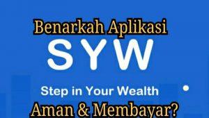 SYW Apk Penghasil Uang