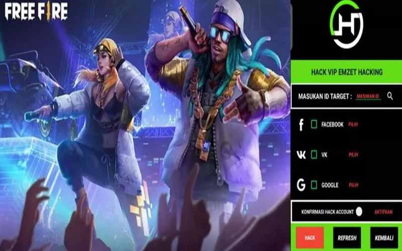 Download Emzet Dark VIP Apk FF Terbaru