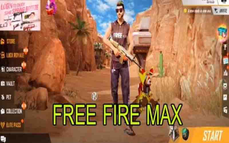 Download FF Max Apk Terbaru 2021