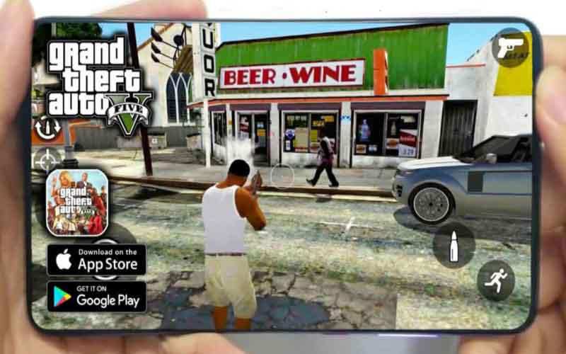 Link Unduh Mod Yukle GTA 5 Untuk Android Gratis
