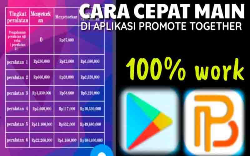 Promote Together Apk Penghasil Uang, Apakah Aman?