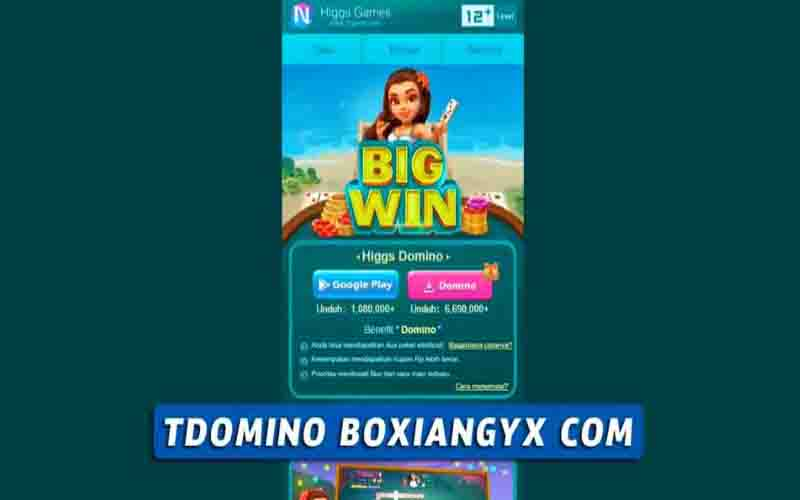 Tdomino Boxiangyx Alat Mitra Higgs Domino 2021